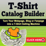 How To Sell T-Shirts on Your Blogs and Facebook Pages as an Affiliate